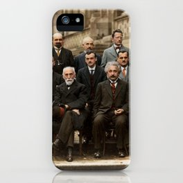 Solvay Conference iPhone Case