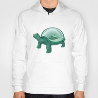 turtles Hoodies featuring Home Sweet Home by Enkel Dika