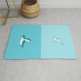 Fly in your own sky Rug