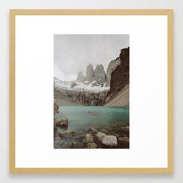 TORRES DEL PAINE II Framed Art Print