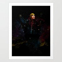 Into The Unknown. Art Print
