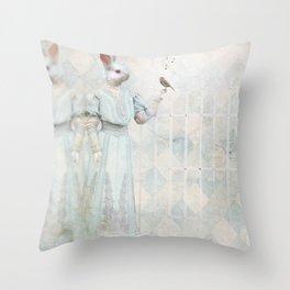 Love Tales Throw Pillow