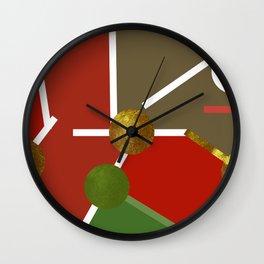 MAP PART N2 Wall Clock