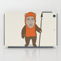 ewok iPad Cases featuring Ewoken by Phil Jones