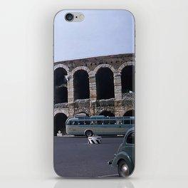 Vintage Color Photo * Verona Arena * Italy * 1950's * Antique Cars * Bus *Italian iPhone Skin