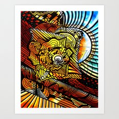 The Great Pyramid Art Print
