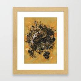 Mini World 2BH Framed Art Print