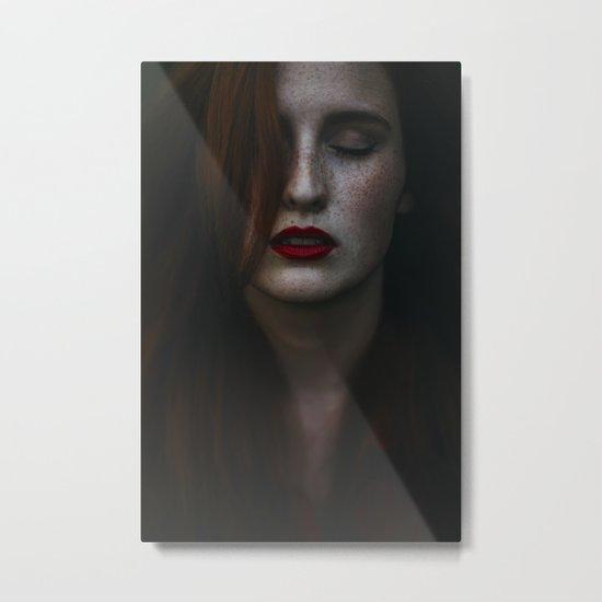 Dark freckle Metal Print