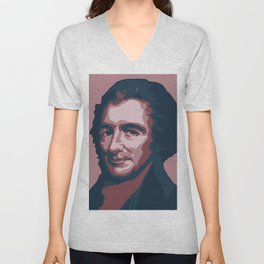 Thomas Paine Unisex V-Neck