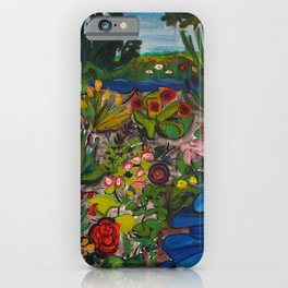Artist's Garden iPhone Case