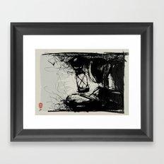 Top Secret Framed Art Print
