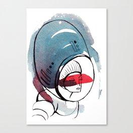 Astro Dame Canvas Print