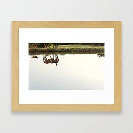 Follow Her Anywhere Framed Art Print