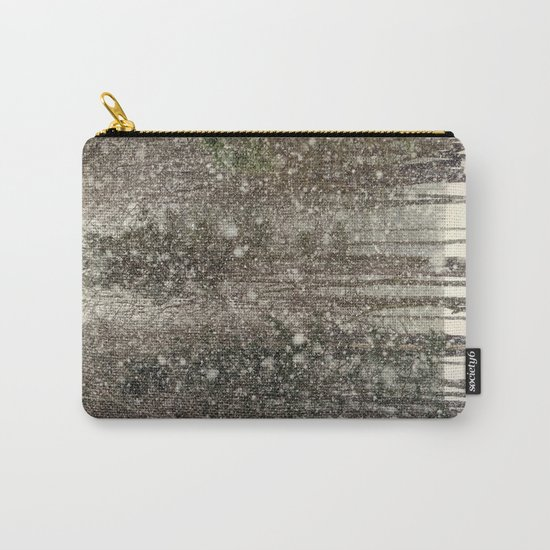Snowfall Landscape Carry-All Pouch