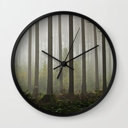 MYSTERY FOREST Wall Clock