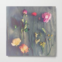Flower Study Metal Print