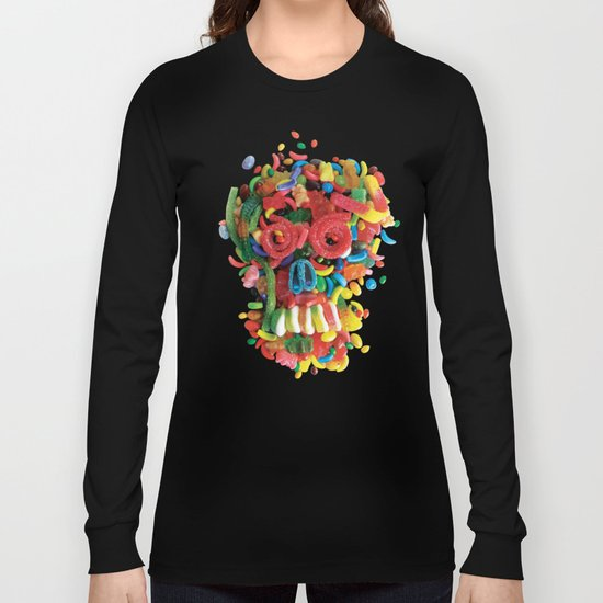 Death and Tooth Decay Long Sleeve T-shirt