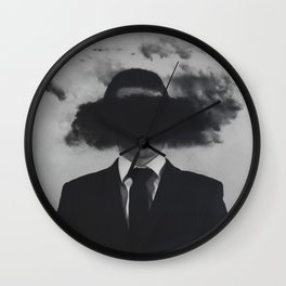 Shroud Wall Clock
