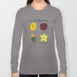 The Fab Four Foods Long Sleeve T-shirt