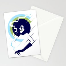 Retropolitan (cool) Stationery Cards