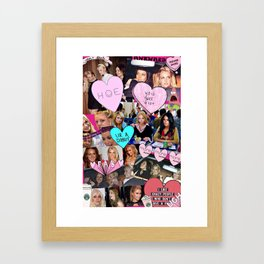 Girls Just Want 2 Have Fun Framed Art Print