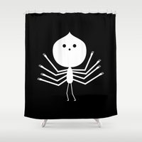 ghost Shower Curtains featuring Ghost by simon oxley idokungfoo.com