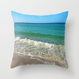 Unraveled Uncertainty Throw Pillow
