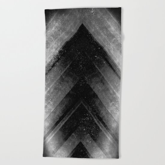 Black Magic Beach Towel
