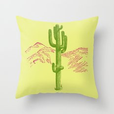 Acid Throw Pillow