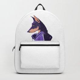 Night doberman Backpack