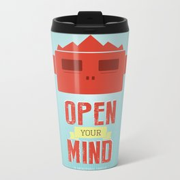Open your mind Metal Travel Mug