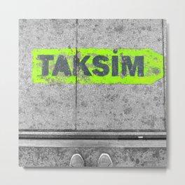 ISTANBUL STREET Metal Print