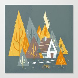 Forest Home Canvas Print