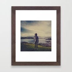 An Element of Realism Framed Art Print