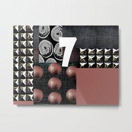 PALE ROSE #THE 7 Metal Print