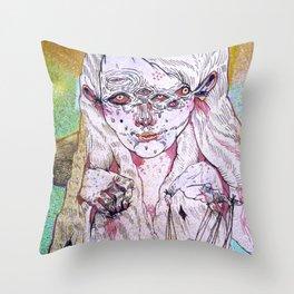 g a i n Throw Pillow