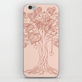 tree of love iPhone Skin