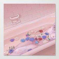 Flower Bath 9 Canvas Print