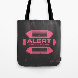 Condition Red Tote Bag
