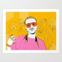 Riff Raff Art Print