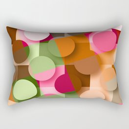 dots & squares Rectangular Pillow