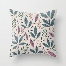 Hand drawn Pattern #01 Throw Pillow
