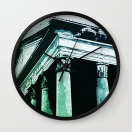 The Roman Pantheon Wall Clock