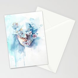 Speak, hear, see no evil Stationery Cards