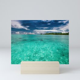 Shallow Sea Mini Art Print