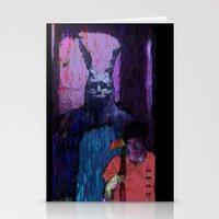 donnie darko Stationery Cards featuring Donnie Darko by brett66