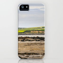 Holyhead, Overlooking Isle of Anglesey, N.Wales iPhone Case
