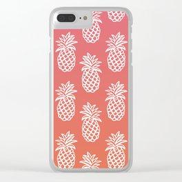 Piñas Sunset Clear iPhone Case