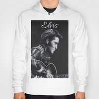 elvis Hoodies featuring Elvis by JeleataNicole
