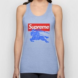 Burbery x Supreme Unisex Tank Top